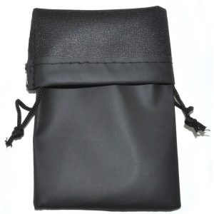 Wholesale Sunglasses Bags Pouches Black Waterproof (100 PCS) .24c ea