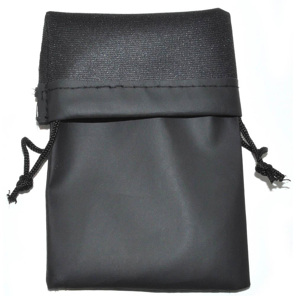 Wholesale Sunglasses Bags Pouches Black Waterproof (100 PCS) .24c ea