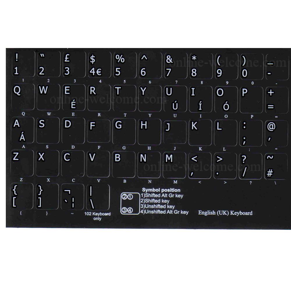 English uk keyboard stickers black online welcome english uk letters for keyboard black buycottarizona