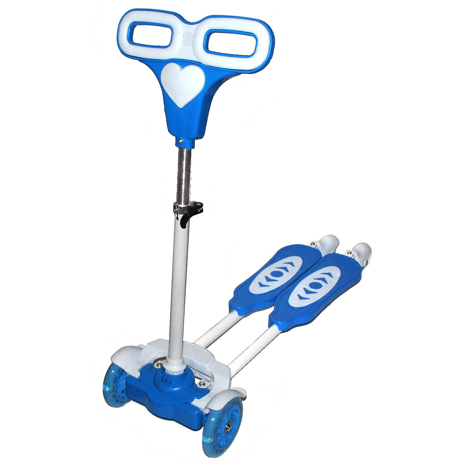 four wheel scooter with light frog motion for kids