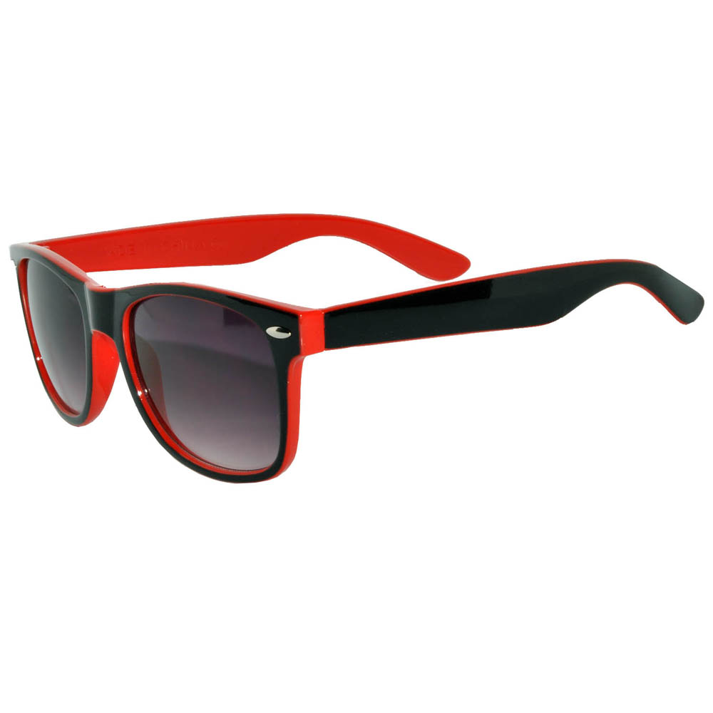 3eed147571a OWL ® Eyewear Sunglasses Two Tone Smoke Lens Red Frame (One Pair ...