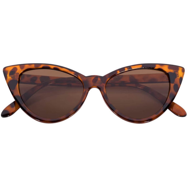 4d04b1e7b0 OWL ® Eyewear Cat Eye Sunglasses Leopard Brown with Brown Lens One ...