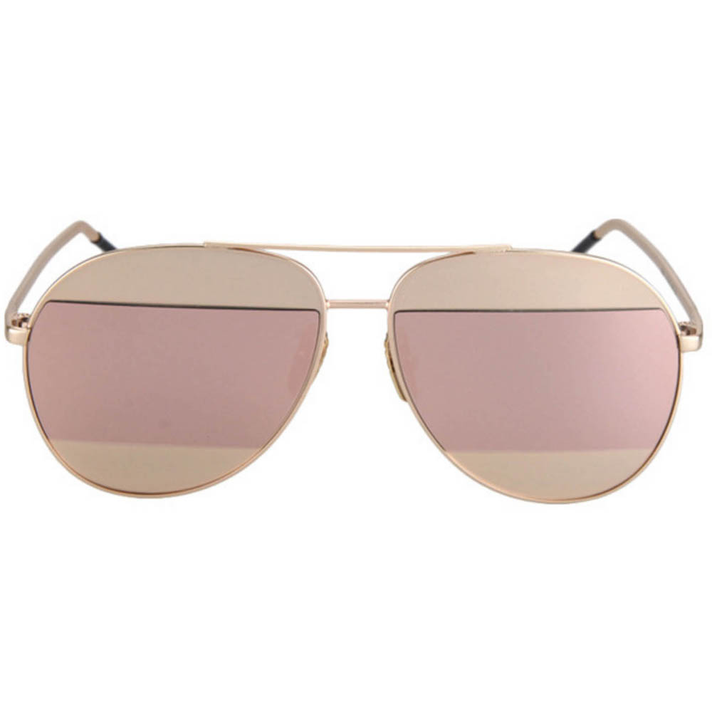 0fe9a0da8e1 OWL ® Eyewear Sunglasses 86004 C1 Women's Metal Aviator Gold Frame ...