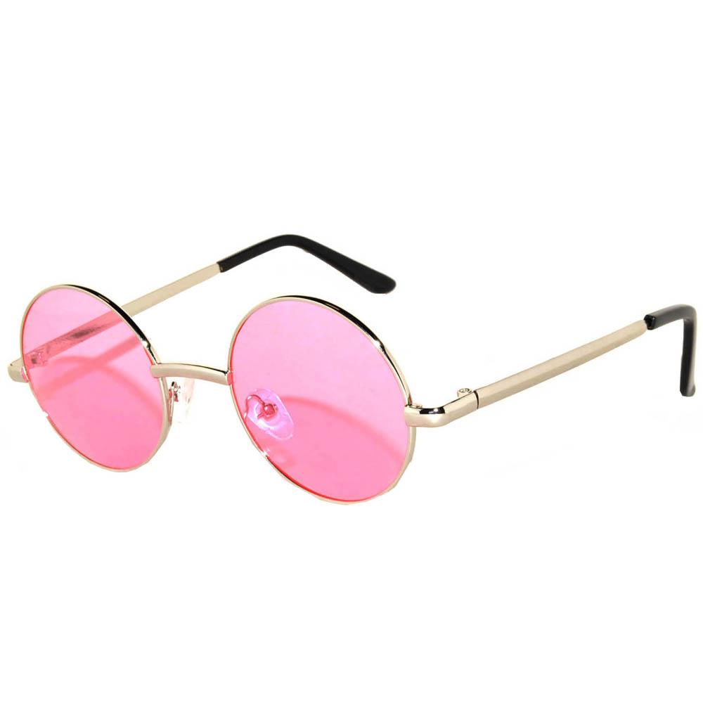 c77ab5a932e OWL ® Eyewear Sunglasses 43mm Women s Metal Round Circle Silver ...