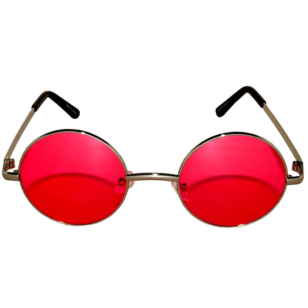 fce8d3f7e4c0 ... Sunglasses 43mm Women s Metal Round Circle Silver Frame Red Lens ...