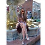OWL ® Eyewear Sunglasses 86012 C3 Women's Metal Fashion Gold Frame Brown Mirror Lens One Pair