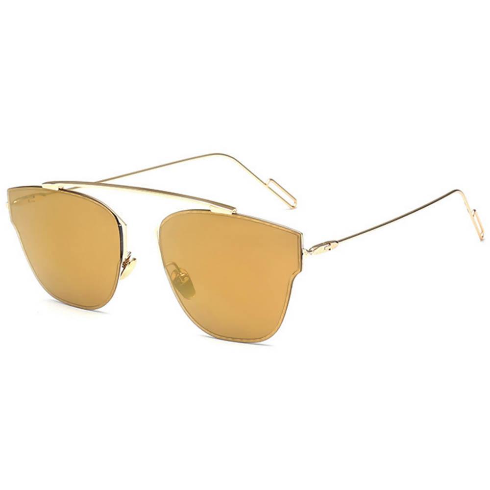 62ed07e00a7 OWL ® Eyewear Sunglasses 86013 C3 Women s Metal Fashion Gold Frame ...