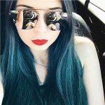 Sunglasses Womens Metal Fashion Pink Frame Pink Lens