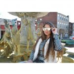 OWL ® Eyewear Sunglasses 86029 C2 Women's Metal Fashion Black/Silver Frame Silver Mirror Lens One Pair
