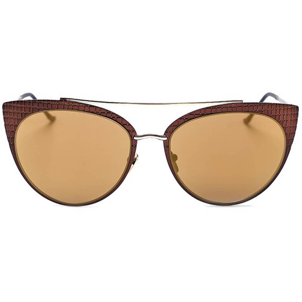 OWL ® Eyewear Sunglasses 86017 Cateye Metal Frame Colored