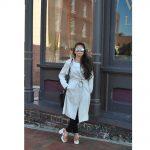Women Metal Sunglasses Fashion Silver Frame Silver Mirror Lens