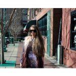 OWL ® Eyewear Sunglasses 86012 C1 Women's Metal Fashion Black Frame Smoke Lens One Pair