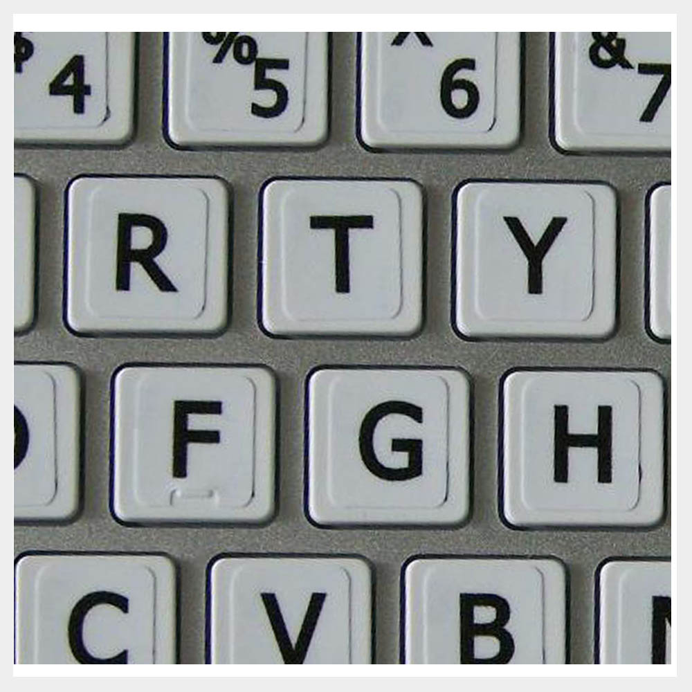 English Keyboard Labels