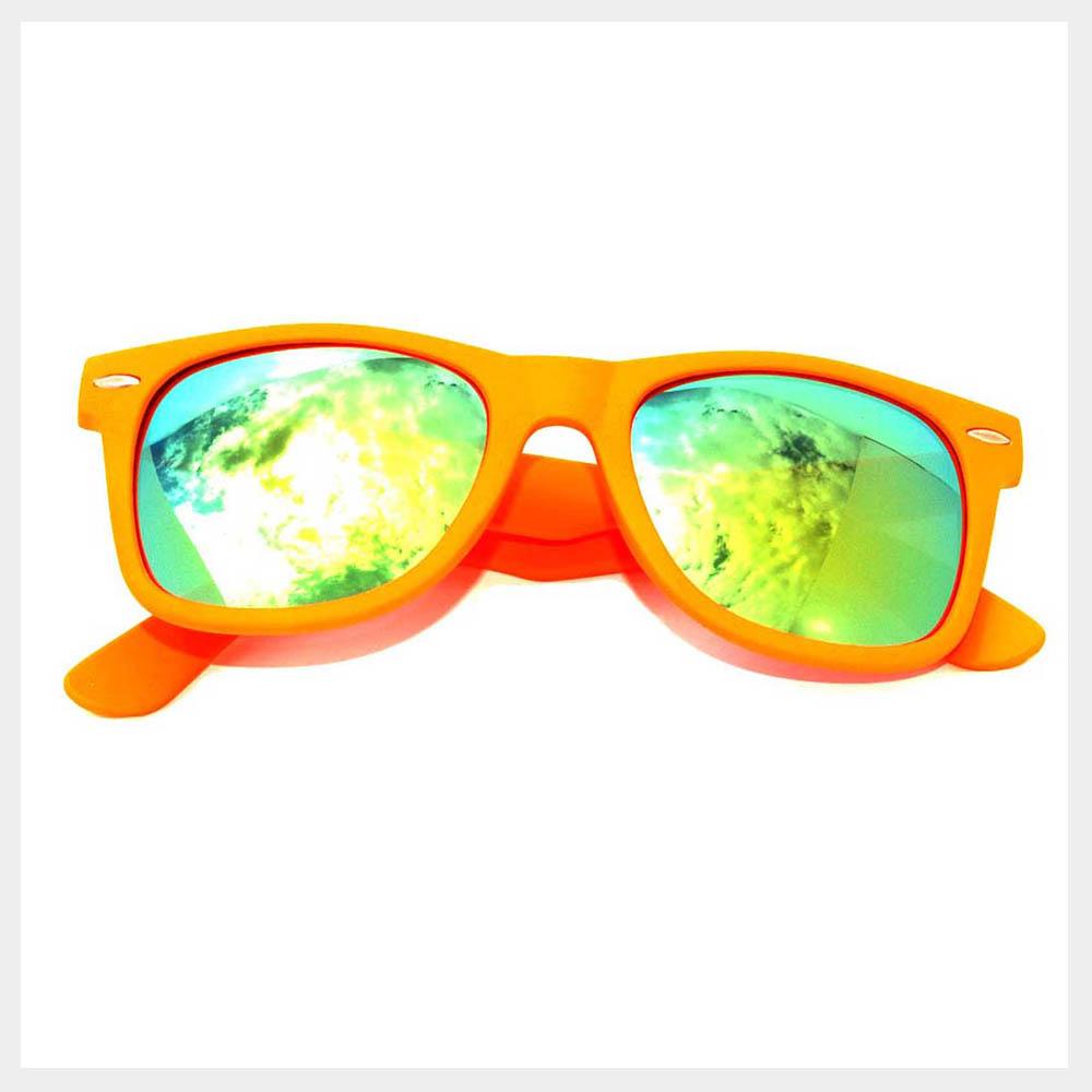 Orange Frame Sunglasses
