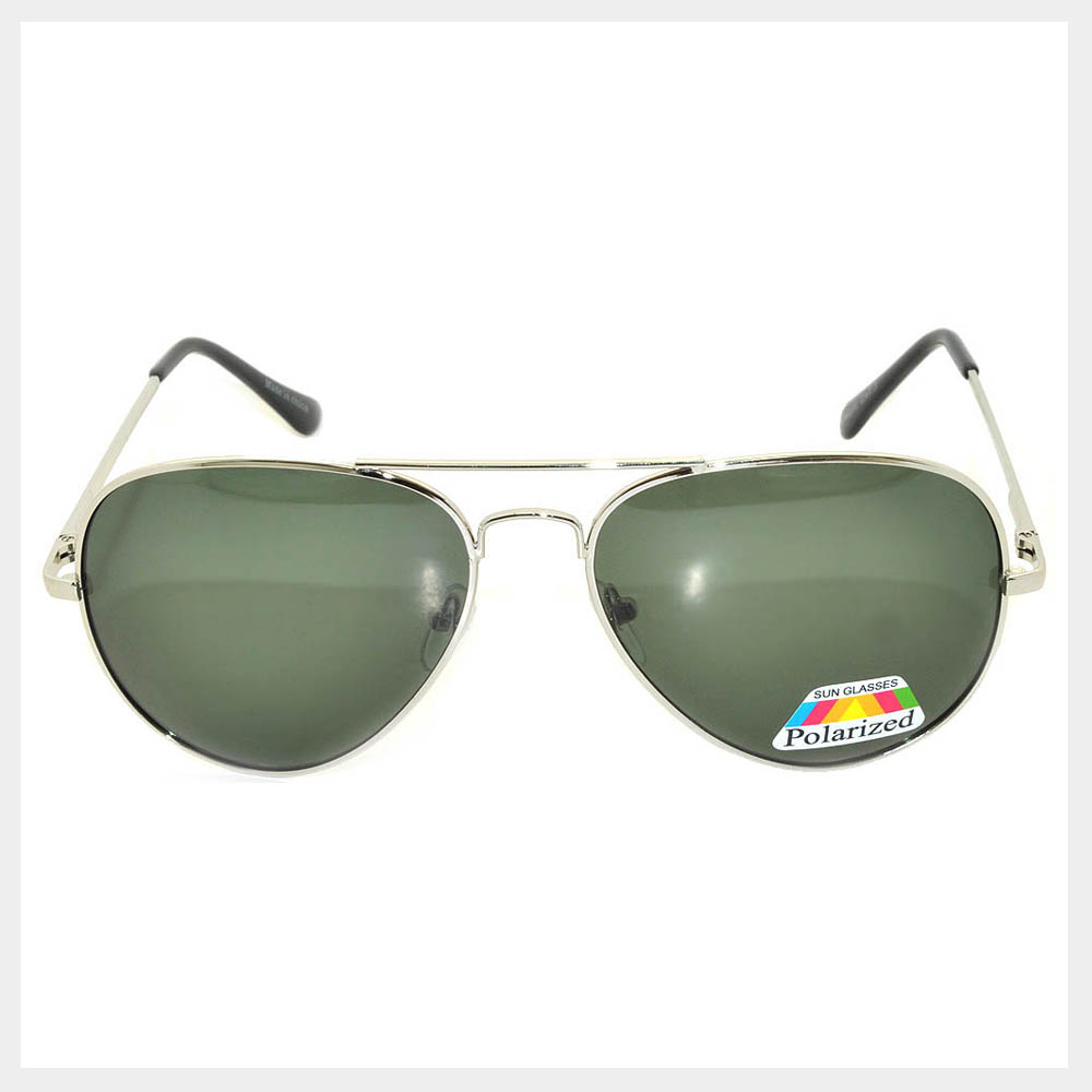 Polarized Lens Classic Aviator Sunglasses
