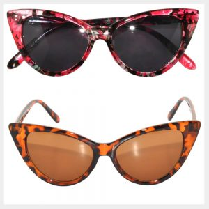 Print Colors Frame Sunglasses Wholesale