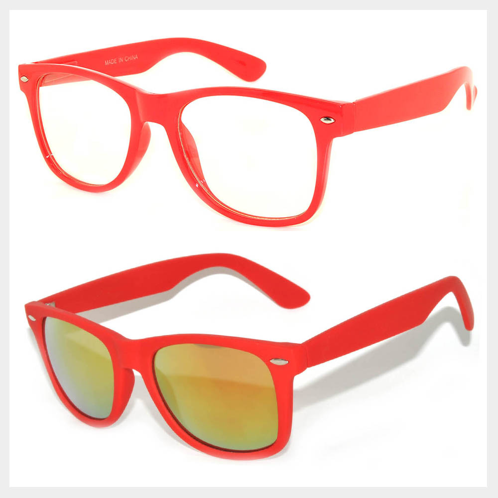 Red Frame Sunglasses Wholesale