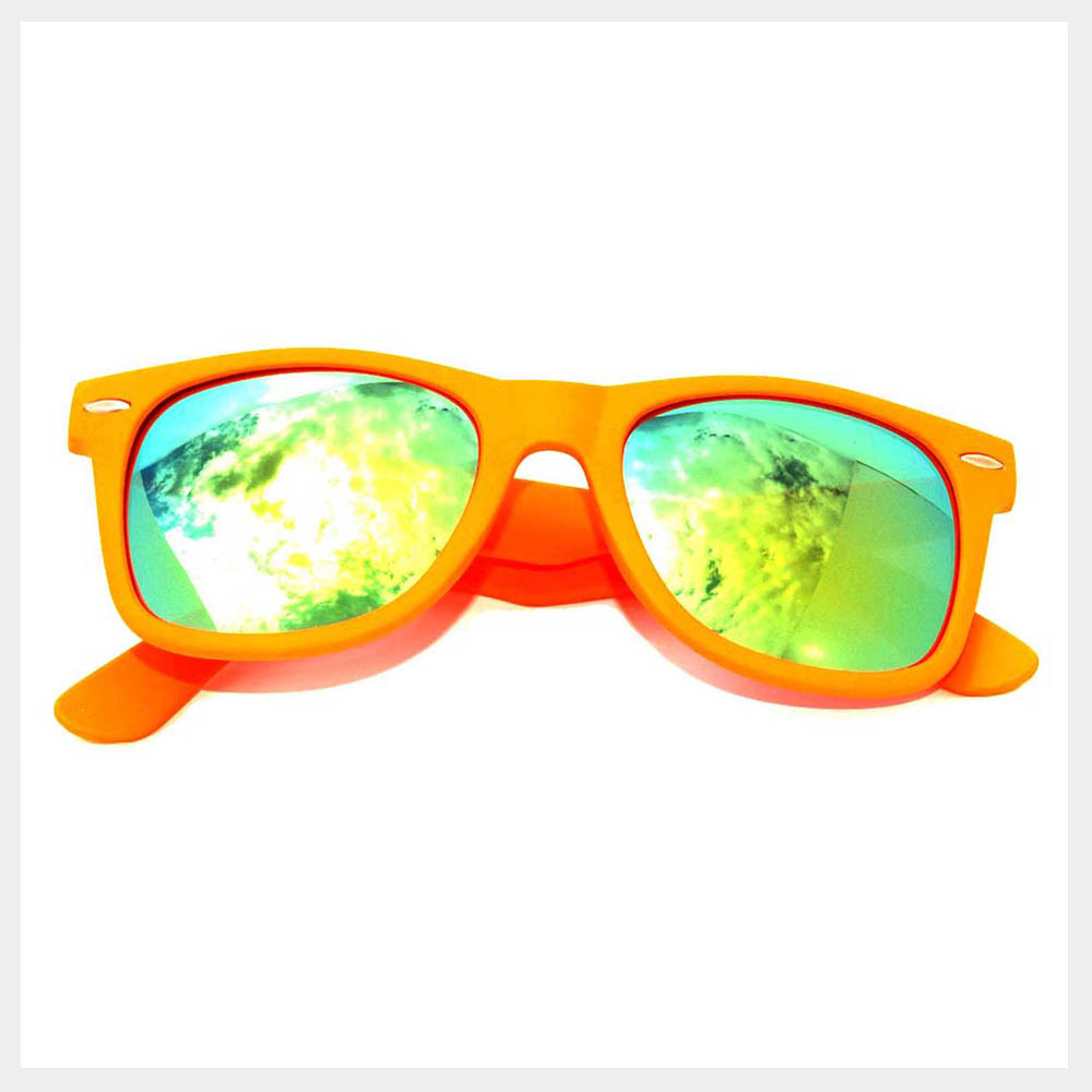 Orange Frame Sunglasses Wholesale ( by the Dozen)