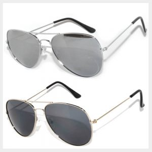 Silver Color Frame Sunglasses Wholesale