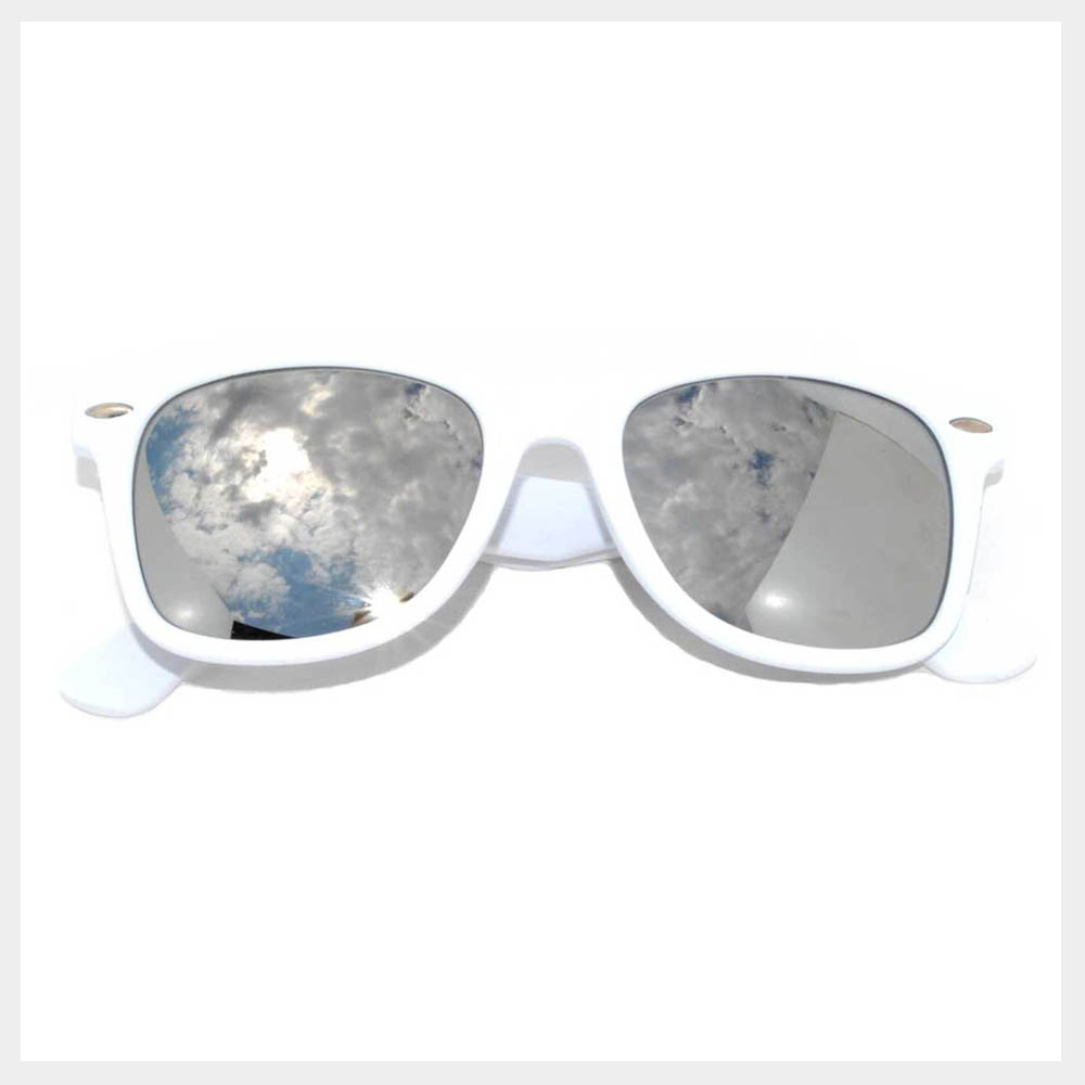 Solid Color Retro Sunglasses