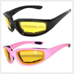 Wholesale Sporty Sunglasses - Driving/Yellow Lens