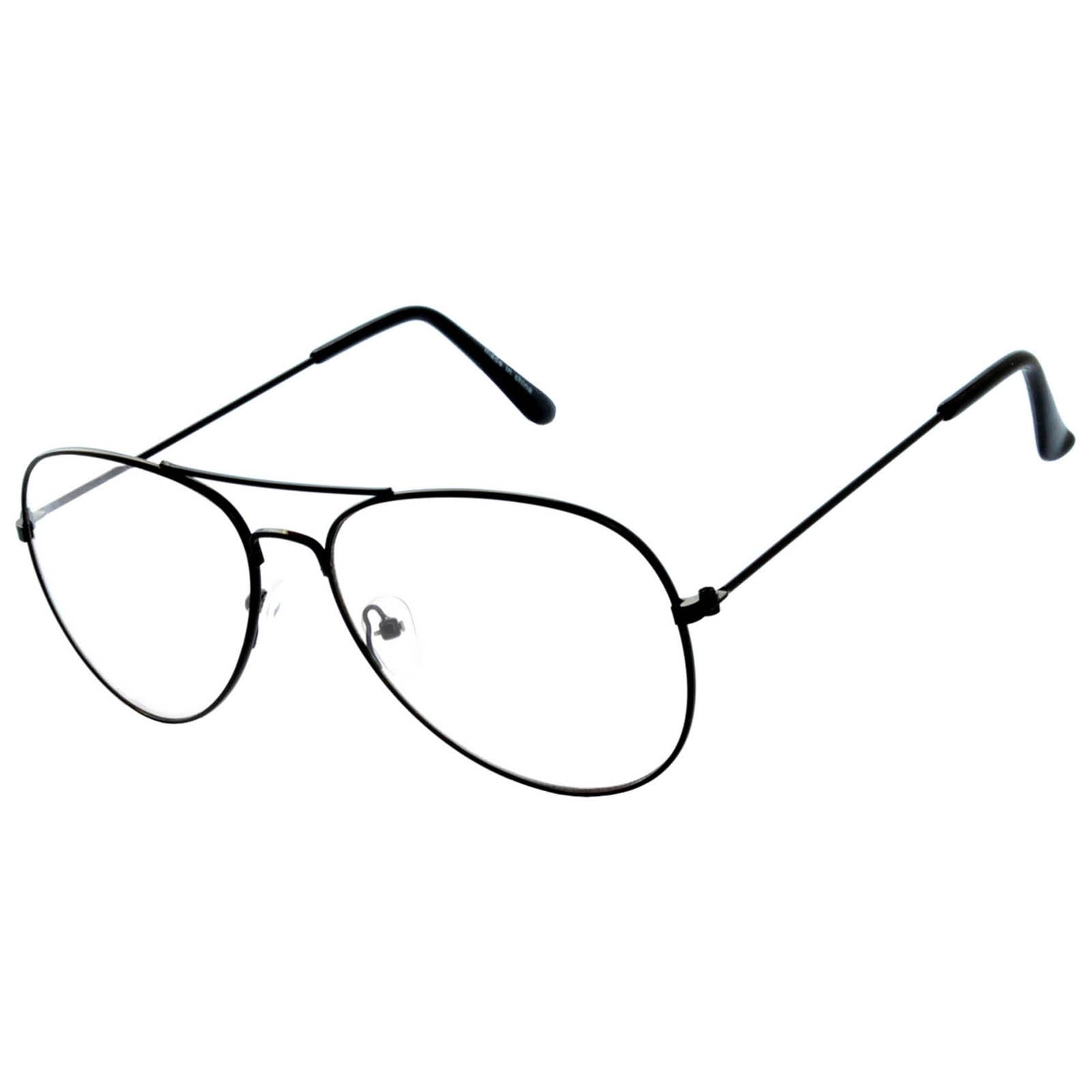 54ca8d6cfd0 OWL ® Eyewear Sunglasses Metal Fashion Aviator Mix Frame Clear Lens ...