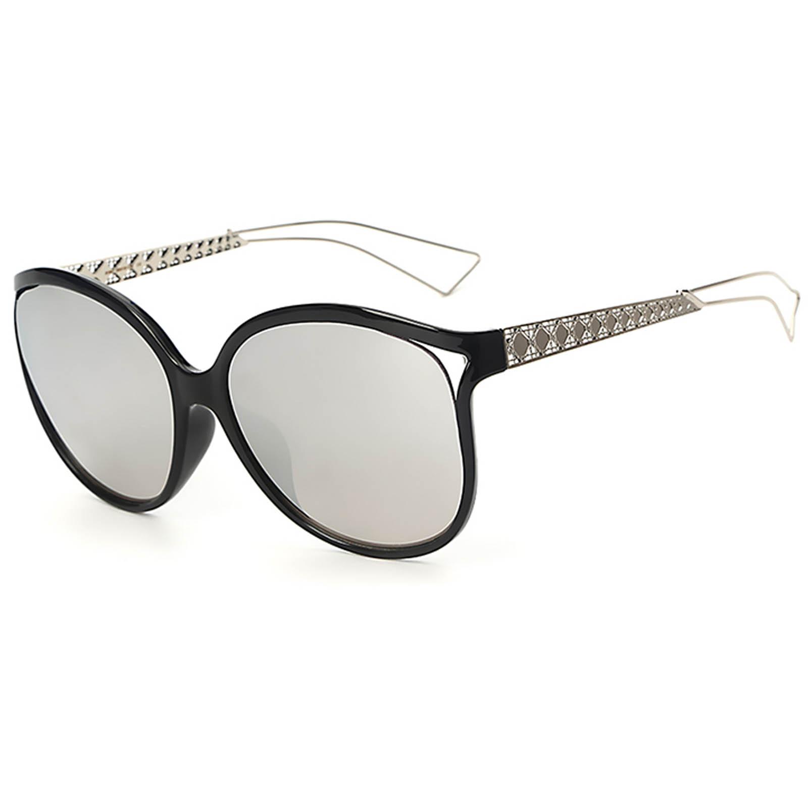 OWL ® 004 C6 Eyewear Sunglasses Women\'s Men\'s Metal Black Frame ...