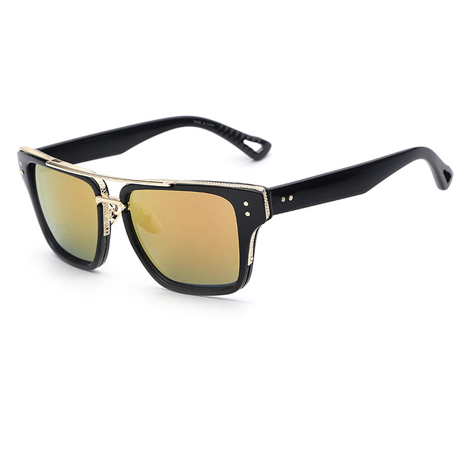 OWL ® 026 C2 Rectangle Eyewear Sunglasses Women\'s Men\'s Plastic ...