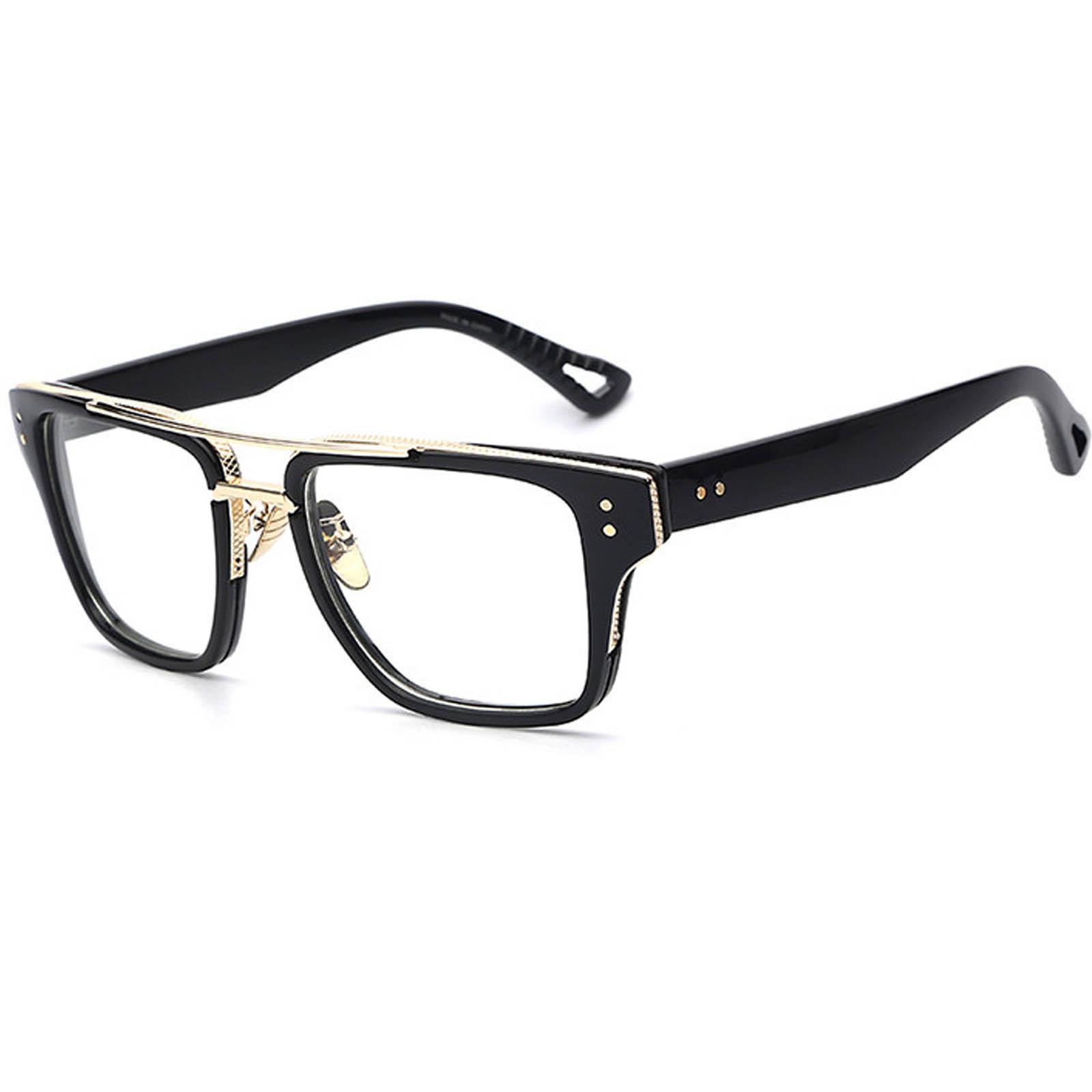 OWL ® 026 C5 Rectangle Eyewear Sunglasses Women\'s Men\'s Plastic ...