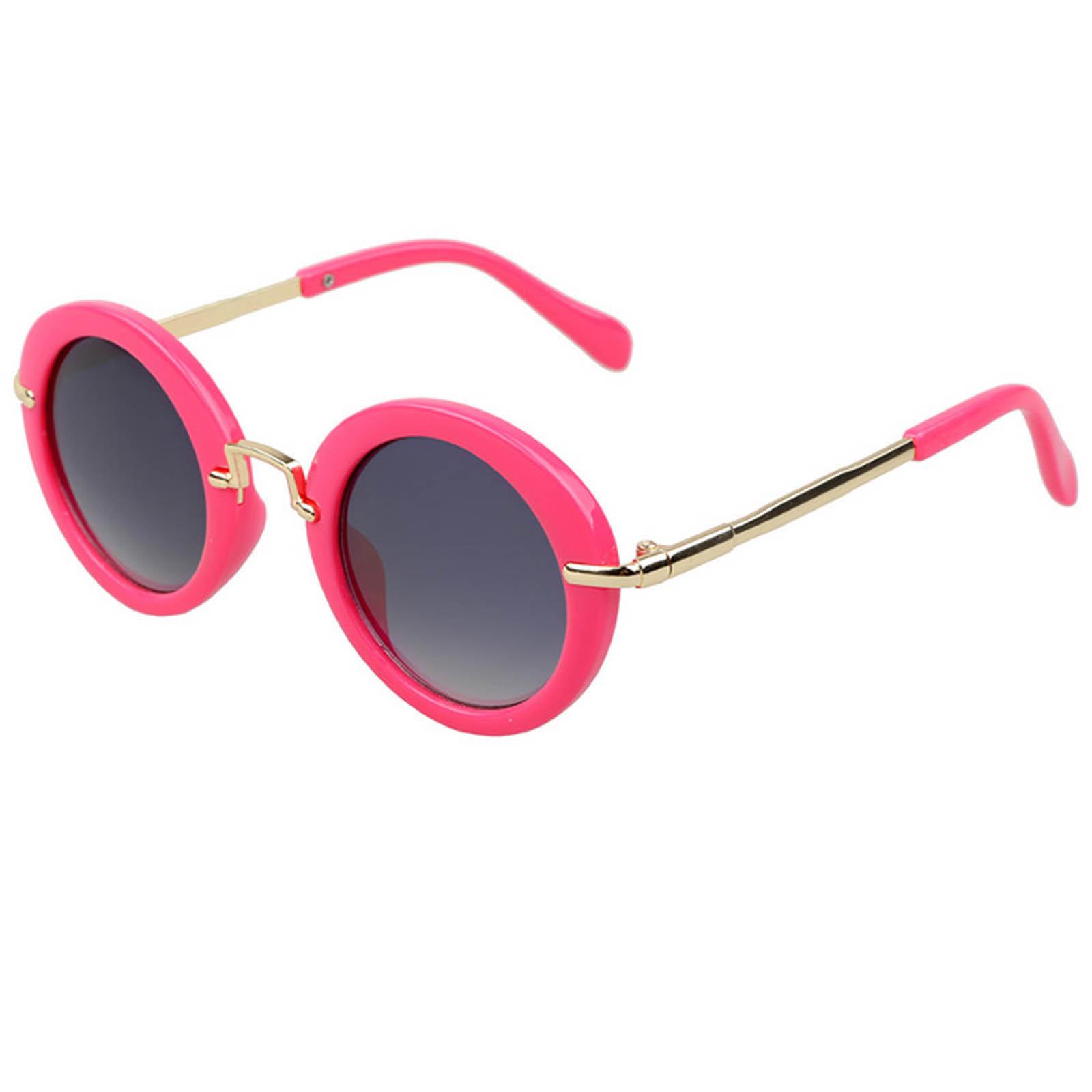 OWL ® 045 C4 Round Eyewear Sunglasses Women\'s Men\'s Metal Round ...