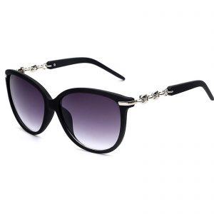 b0afde8bcee OWL ® 052 C2 Cat Eyewear Sunglasses Women s Men s Plastic Black Frame Smoke  Lens One Pair