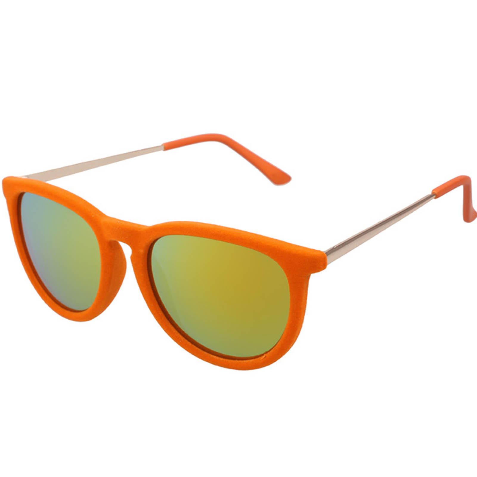 OWL ® 053 C5 Eyewear Sunglasses Women\'s Men\'s Plastic Velvet Orange ...