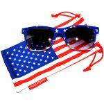 wholesale american flag sunglasses supplier