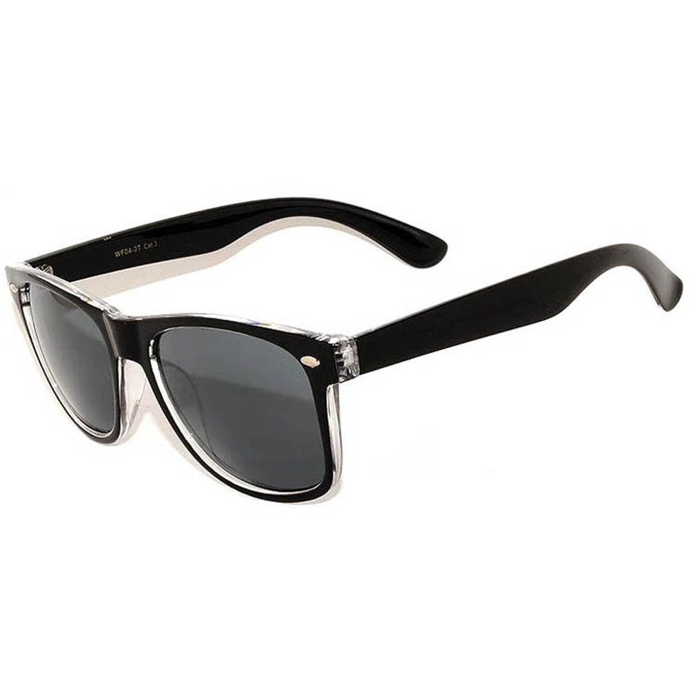 2tone-black sunglasses men women