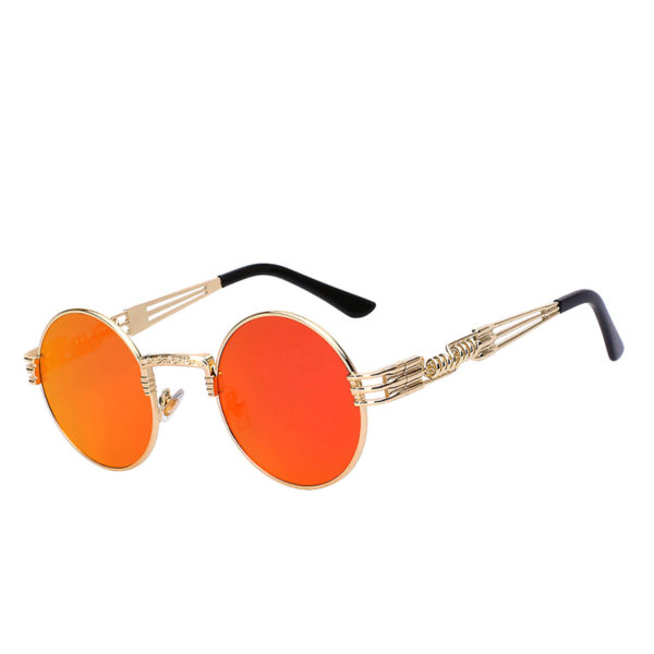 5c9fddb190 003 Steampunk Gothic Sunglasses Metal Round Circle Colored Frame ...