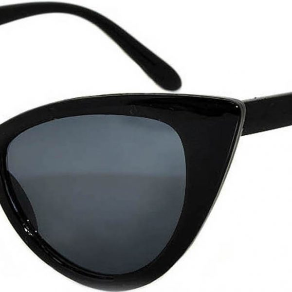 cat eye sunglasses plastic black frame