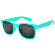 12 Pieces Wholesale Kids Polarized Smoke Lens Sunglasses Anti Glare Turquoise