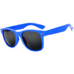 Lot of 12 Pairs Kids Polarized Smoke Lens Matte Sunglasses Anti Glare Blue Dark