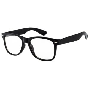 black clear lens sunglasses